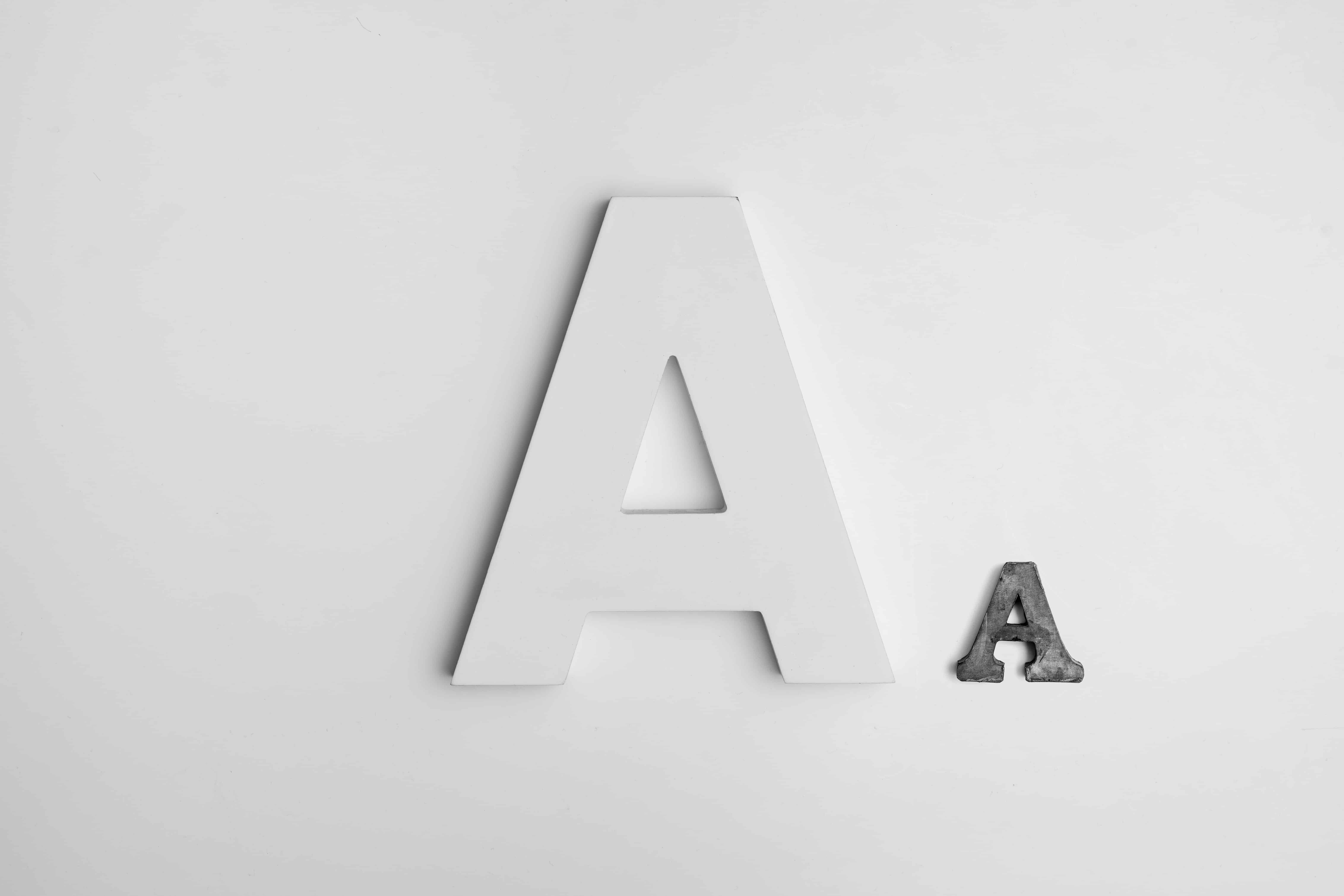 Blaze Experts' Branding Alphabet