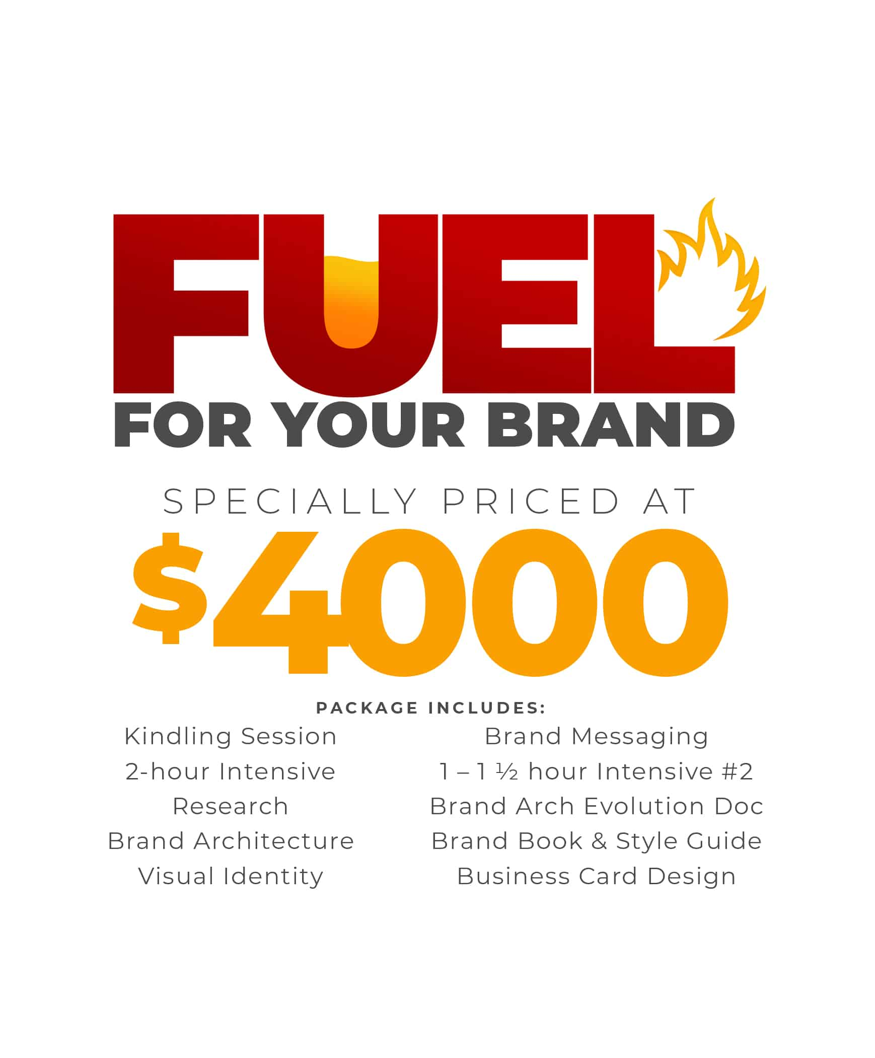 Fuel For Your Brand Holiday Pricing