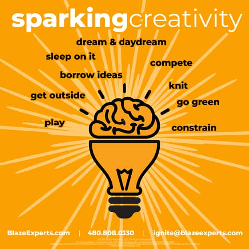 Sparking Creativity graphic teaser